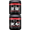Inner Armour Muscle Rush/BCAA Peak Stack, 16 servings each (Fruit Punch)