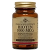 Solgar Biotin 1000mcg, 100 vegetable capsules (BEST BY 5/15)