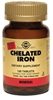 Solgar Chelated Iron, 100 Tablets
